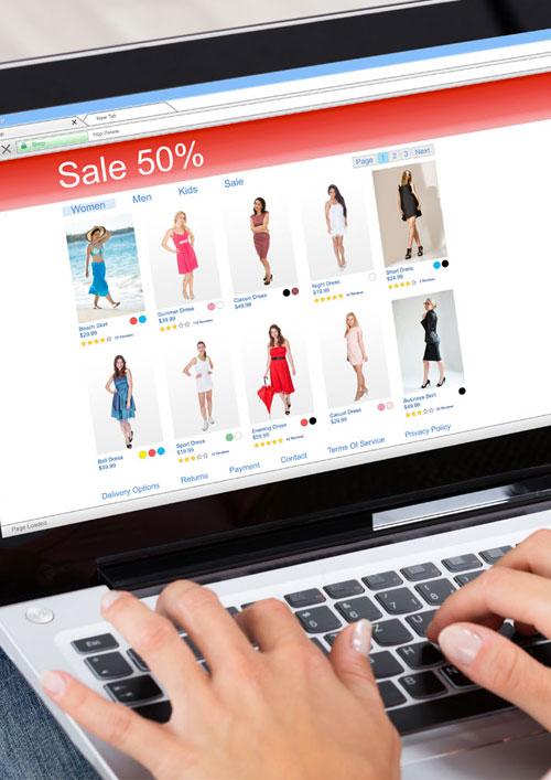 un site de vente en ligne